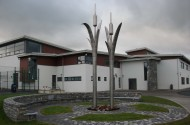 Alex-Pentek.-Bulrushes-2013.-Stainless-steel-LED-lighting-landscaping.-Glenamaddy-Community-School-Glenamaddy-Co.-Galway-Ireland.